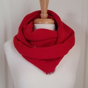 Used, SALE! J. Jill Red Infinity Scarf NWOT for sale